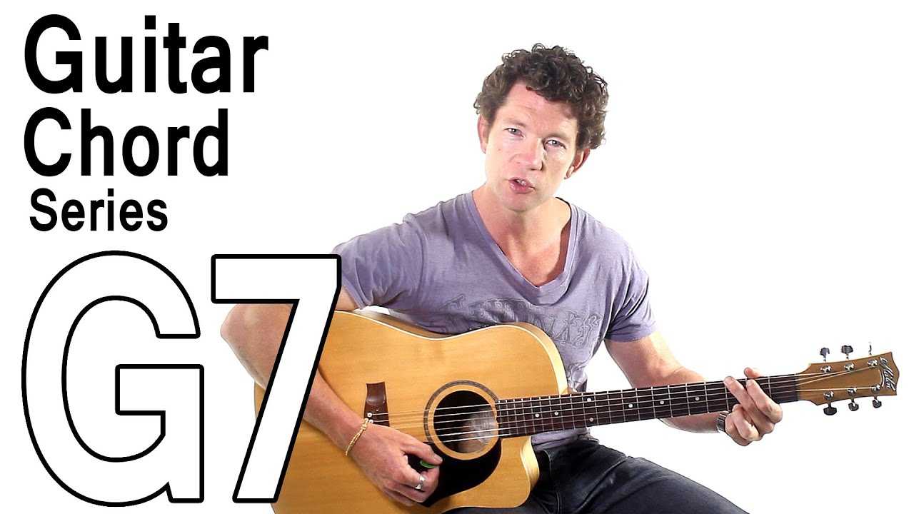 Beginner Guitar Chords 13 G7 Chord And Progression Youtube
