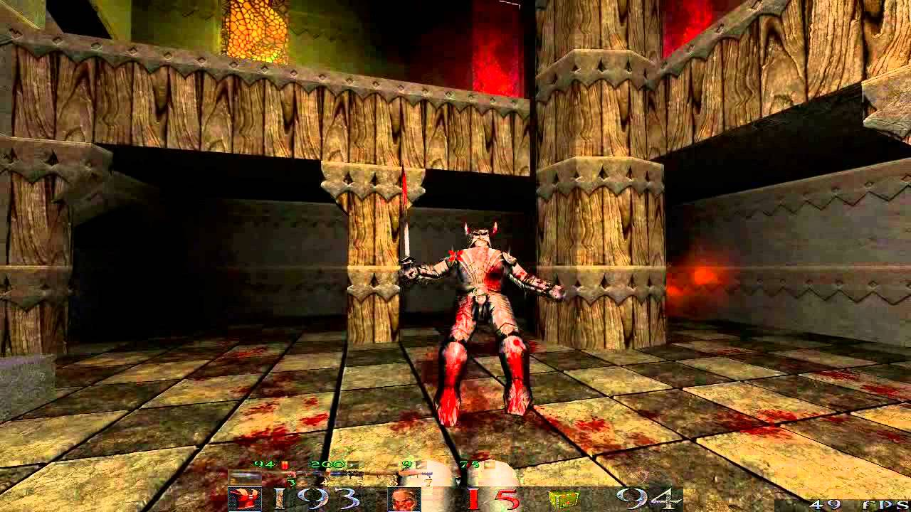 Quake 1 HD in 2013 (DarkPlaces Epsilon Ultra) - E2M5 100% ...