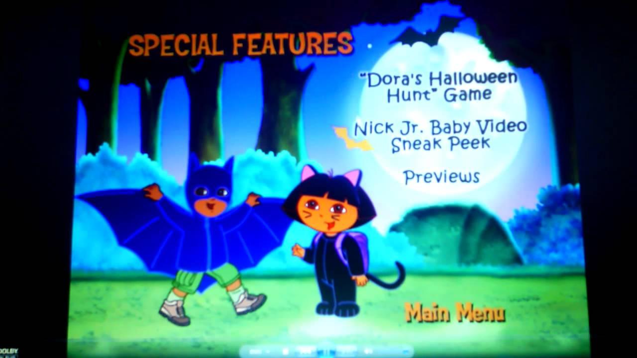 dora the explorer- dora's halloween - youtube