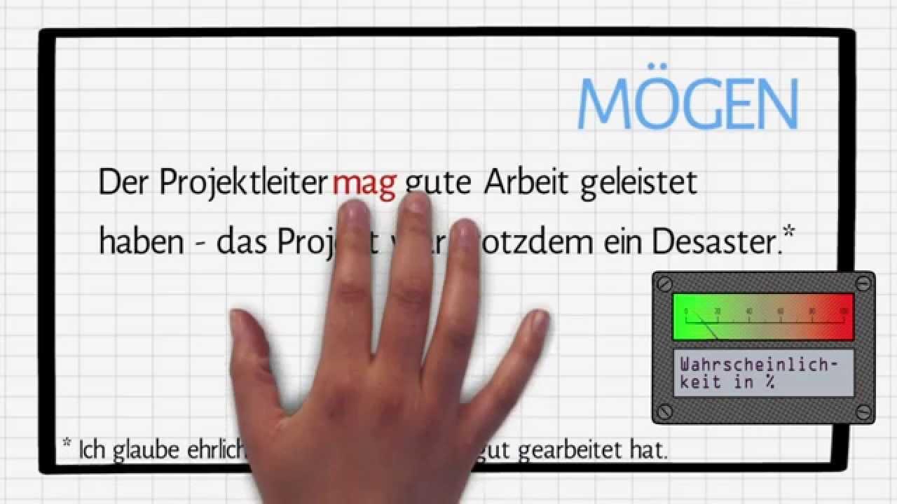 Deutsch für Fortgeschrittene: Modalverben in subjektiver Bedeutung ...