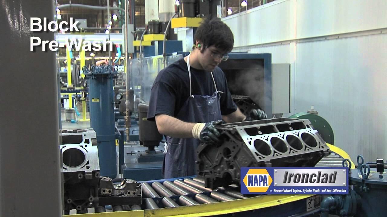 NAPA IRONCLAD REMANUFACTURED ENGINE PLANT TOUR VIDEO