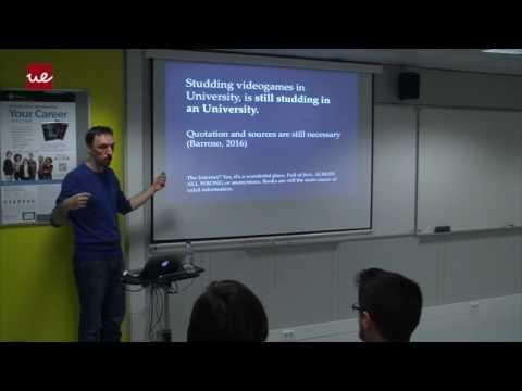 The Professional Future in Videogames, Ivan Barroso (2016-05-18 19:00)