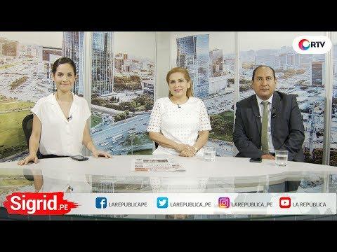 Los Congresista Maritza García y  Richard Arce en Sigrid.PE