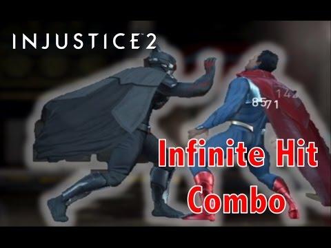 Injustice 2 Mobile - Infinite Hit Combo Glitch (BETA)