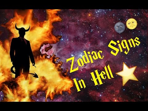 Zodiac Signs In Hell