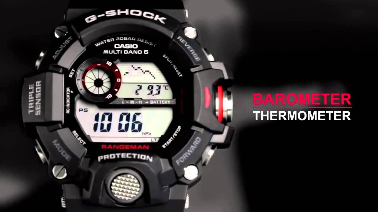 G-Shock Rangeman GW9400 óra - Karóra Centrum - YouTube 21b9e1eb6a
