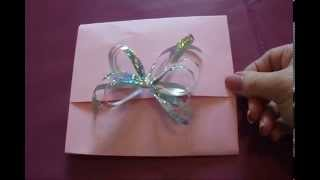 diy wrap a small package no cutting taping or gluing