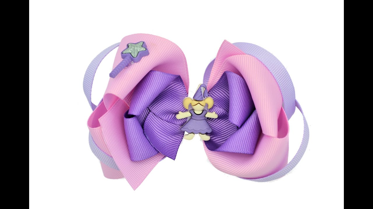 make princess hair bow