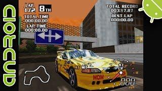 World Driver Championship (SLOW) NVIDIA SHIELD Android TV Mupen64Plus FZ Emulator 1080p Nintendo 64