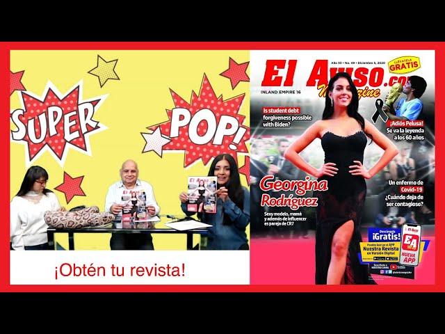Georgina Rodríguez en la portada de nuestra revista - El Aviso Magazine