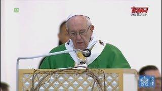 Homilia papieża Franciszka wygłoszona podczas Mszy św. w parku Santakos w Kownie