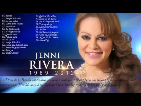 Jenni Rivera Sus Mejores Éxitos | Las 25 Mejores Conciones de Jenni Rivera