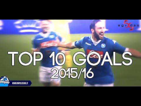 SSC Napoli Top Ten Goals - I 10 goal più belli della Stagione 2015/16 HD