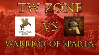 Total War Zone Vs. Warrior Of Sparta - Total War: Rome II - Online Battle (Rome Vs Egypt))
