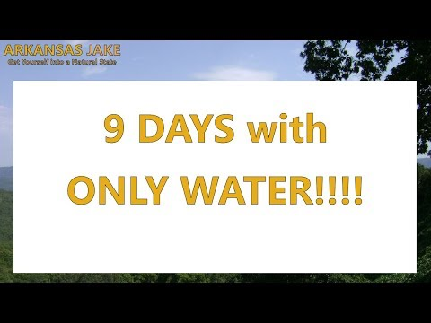 I lost 16+ pounds in 9 DAYS!!  [WATER FASTING]