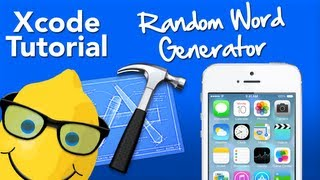 XCode Tutorial Random Word Generator - Geeky Lemon Development