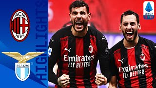Milan 3-2 Lazio | Hernandez Seals Win in Epic 5-Goal Thriller! | Serie A TIM