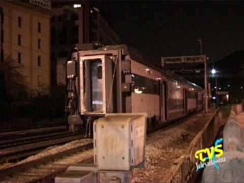 incidente ferroviario deraglia treno a Como Borghi
