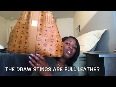 What's In My Bag + Review: MCM Liz Reversible Shopper Tote 💕
