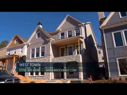 Look Inside the West Midtown Homes of West Town by Brock Built