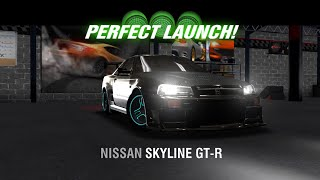 racing rivals nissan skyline gt r r34 perfect launch tutorial