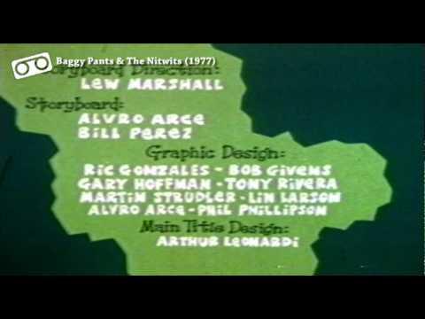Baggy Pants & The Nitwits Closing Credits (NBC, 1977)