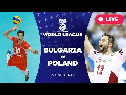 Bulgaria v Poland - Group 1: 2017 FIVB Volleyball World League