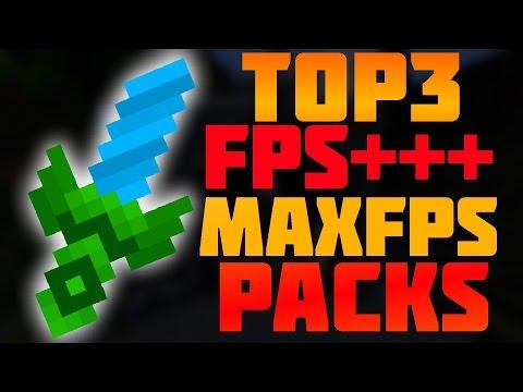 Top 3 Minecraft PvP Texture Packs FPS BOOST/FPS+++ 1.7.X/1.8.X/1.9.X (NoLag)