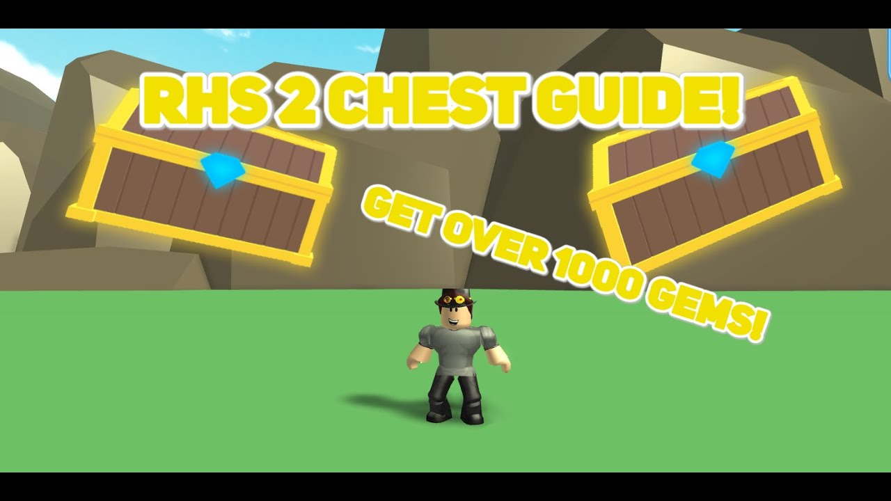 Roblox High School 2 Chest Guide Youtube