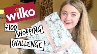 £100 Wilko Back To Uni Shopping Challenge   Emily Steele