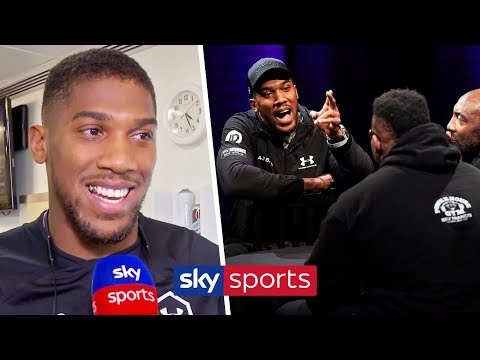 Anthony Joshua reveals what REALLY happened in the Gloves Are Off with Jarrell Miller 🥊