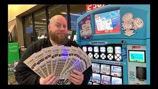 I Spent $100 On MILLION DOLLAR EXTRAVAGANZA Lottery Tickets and WON