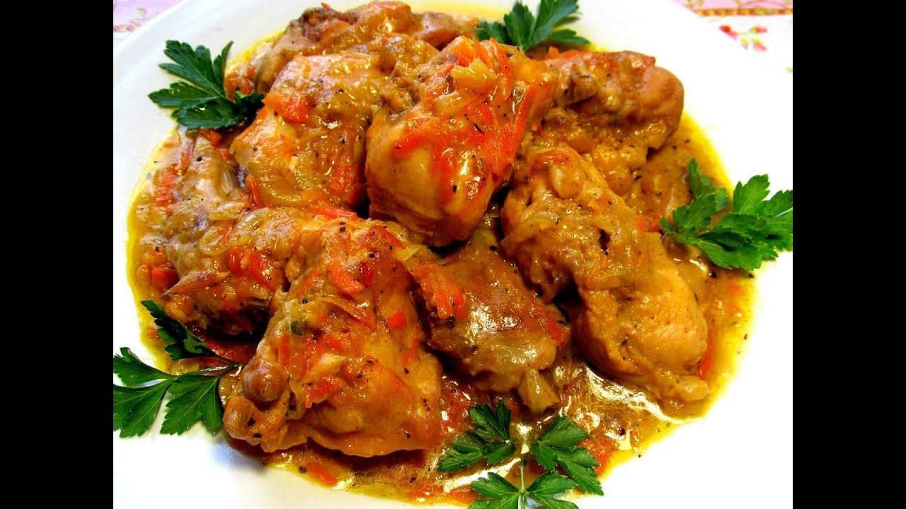 Вкусно - КРОЛИК тушеный в сметане Рецепт Тушеные Рецепты|как быстро и вкусно приготовить мясо кролика