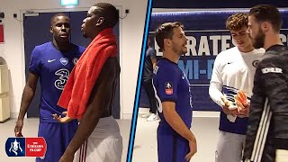 TUNNEL CAM | Zouma Consoles Pogba & Willian Can't Find Fred | Manchester United 1-3 Chelsea