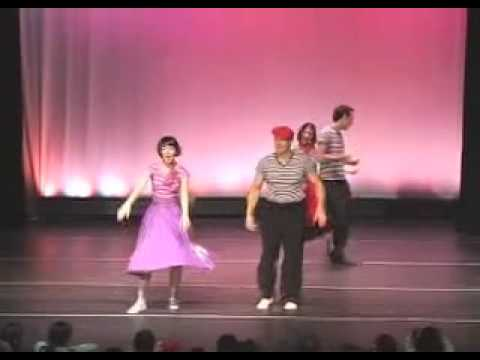50's Dance Routine Featuring The Lindy Hop All-Stars