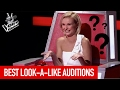 BEST LOOK-A-LIKE BLIND AUDITIONS IN THE VOICE