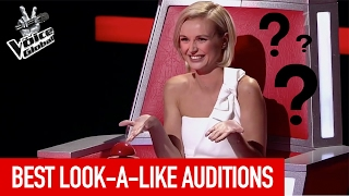 BEST LOOK A LIKE BLIND AUDITIONS IN THE VOICE