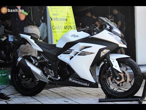 Kawasaki Ninja Details 300 Abs 2017 Trips Tv Youtube