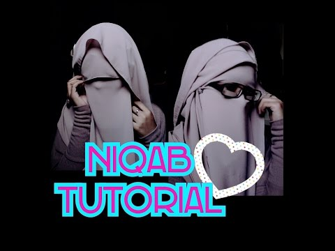 NIQAB TUTORIAL with eye veil (reupload)