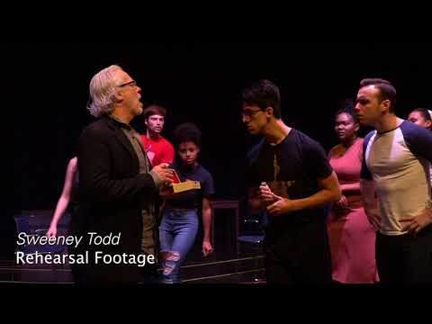 CRT Behind the Scenes - SWEENEY TODD: A Musical Thriller in Concert