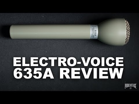 Electro-Voice 635A Handheld Interview Mic Review / Test