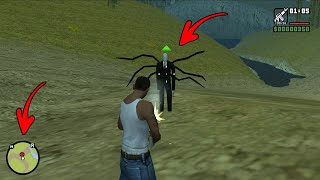 Secret Slenderman Location in GTA San Andreas! (Boss Fight in the Woods)