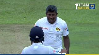 Rangana Herath picks up 100th wicket at Galle in farewell Test