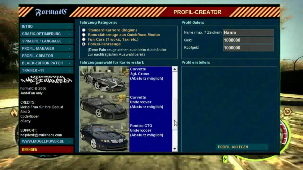 Need for speed: carbon trainer | cheat happens pc game trainers.