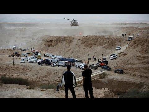 فقدان عشرة أشخاص في سيول جنوبَ إسرائيل  - نشر قبل 31 دقيقة