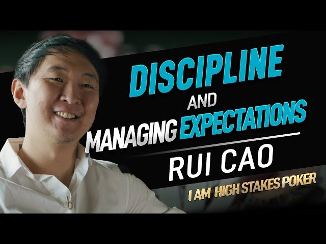 Rui Cao Focus 4   Finale Discipline and Expectations