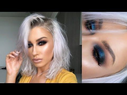 INTENSE BLUE SMOKEY EYE | lolaliner thumbnail