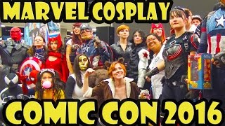 Best of Marvel Cosplay at Comic Con 2016