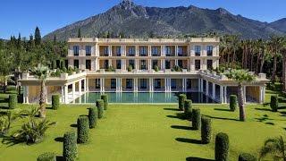 Luxury Villa in Marbella. Exclusive Palatial Estate on Marbella