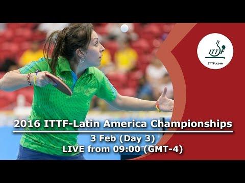 2016 ITTF-Latin American Championships - Day 3
